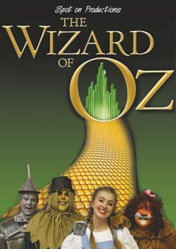 Wizard of Oz Show program cover